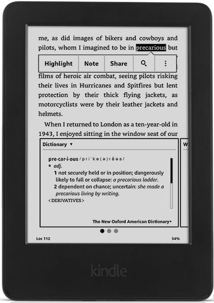 E-bralnik ponuja optimalno izkušnjo pri branju e knjig